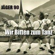 """Jäger 90 bitten zum Tanz...: Pünktlich zum Familienfest bringt Jäger 90 eine limitierte EP heraus. """"Wir bitten zum Tanz"""" verlocken die Jungs diesmal. Da Steigt die Vorfreude würde ich meinen. Limitiert auf 299 Stück, erhältlich auf dem Familientreffen in Sandersleben und später über http://electro-arc.jimdo.com/kontakt-impressum/ dem Electro Arc 's Blog"""