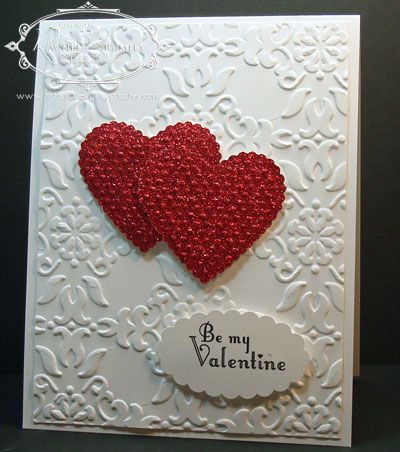 339 best images about Stampin Up Valentines – Valentine Heart Cards