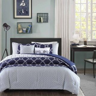 Shop for Intelligent Design Zara Navy Comforter Set. Ships To Canada at Overstock.ca - Your Online Kids'