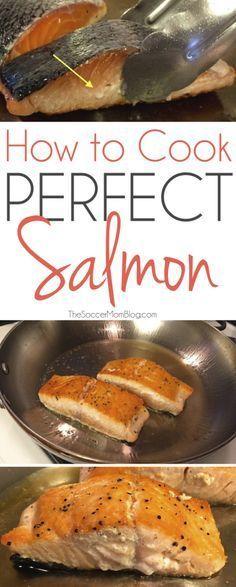 Con este truco infalible se puede disfrutar de restaurante de calidad de mariscos en el país - cocinar el salmón perfecto cada vez!