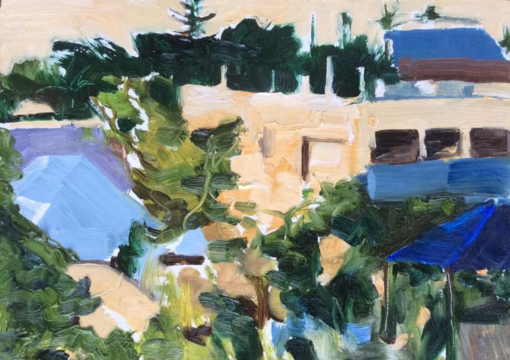 Studio Paintings | clare purser