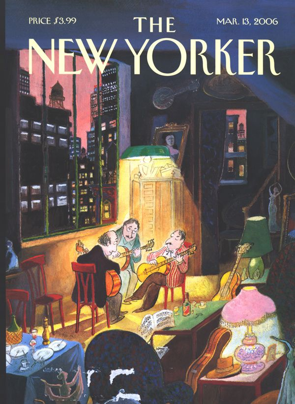The New Yorker, March 13, 2006, Jean-Jacques Sempé (if I could play, if others would play along...)