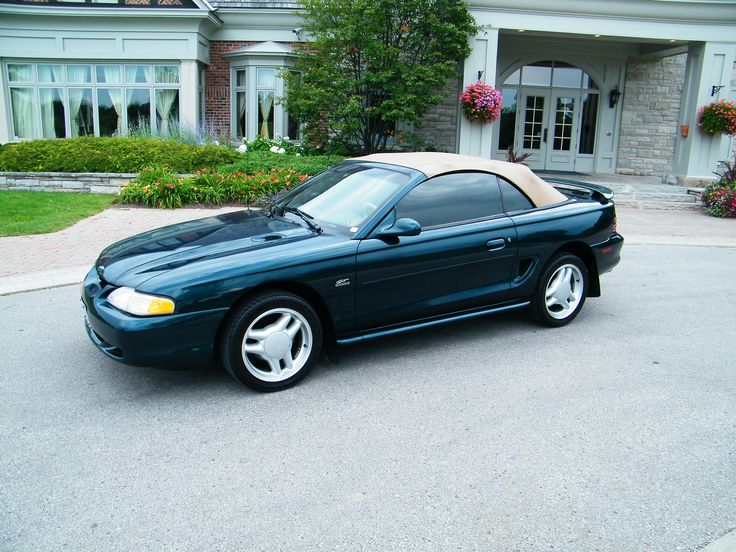 "1997 Ford Mustang Convertible -   1997 Ford Mustang SVT Cobra - Features & Specs - Edmunds - 94-04 ford mustang carpet coupe  convertible 1995 1996 Our 1994-2004 ford mustang carpets are heat and pressure molded to the original floor pan and are made with top quality auto carpet materials. this aftermarket. Ford mustang (fourth generation) - wikipedia  free For the 1994 model year the ford mustang underwent its first major redesign in fifteen years. the design code named ""sn-95"" by ford was…"