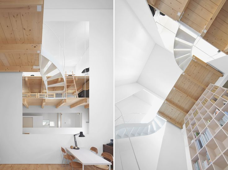 Best Jun Igarashi Articulates Case House Around Dual Staircases 400 x 300