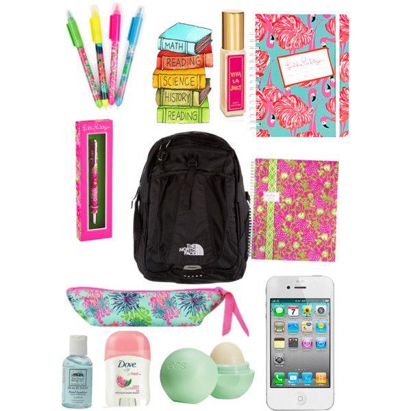 high school essentials I WANTTTTTT!!!!!!!!!!!!!