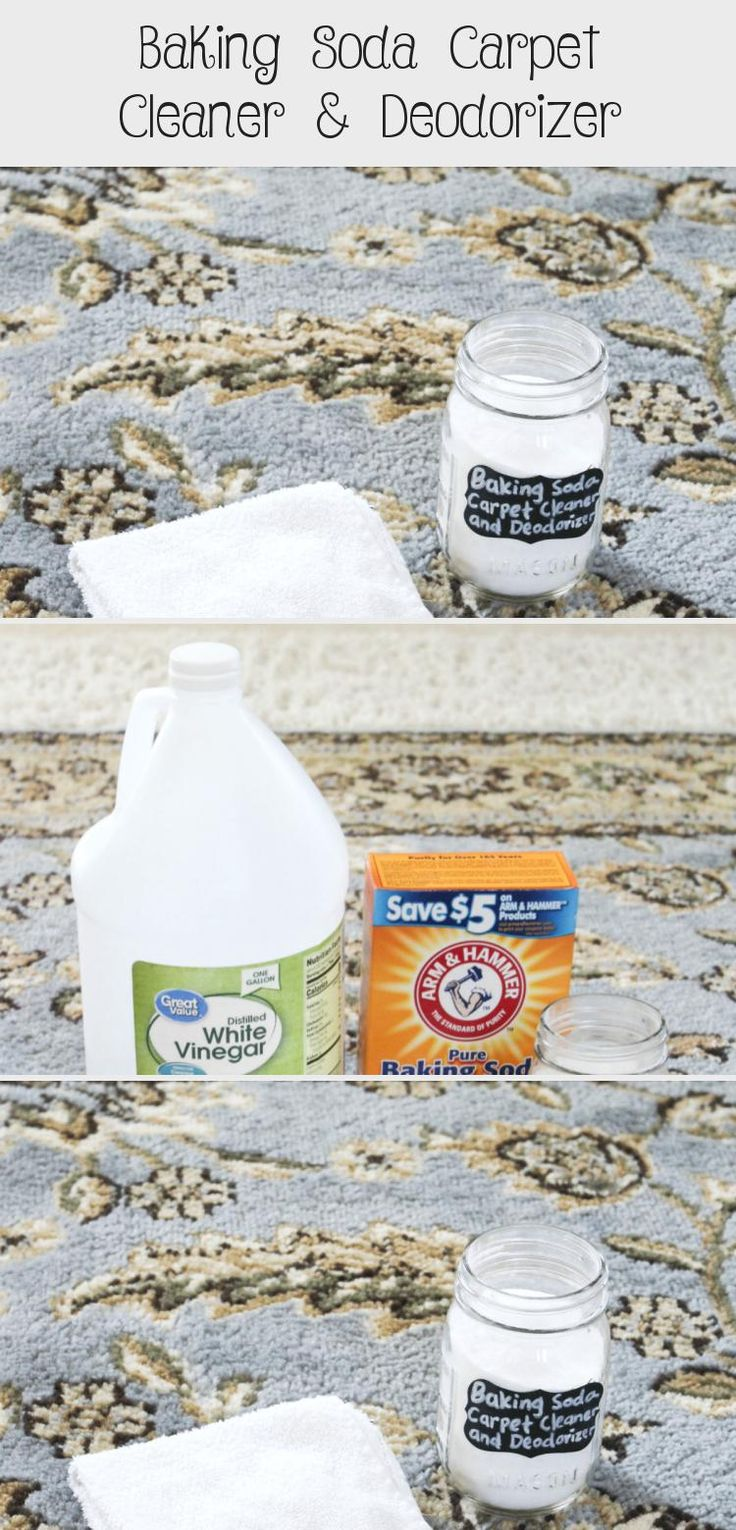 How to Clean and Deodorizer Your Carpet with Baking Soda