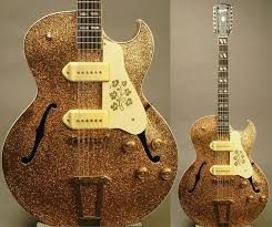 """Gibson ES-175/ES-295 Custom Made 12-String with """"Marty Bell"""" Finish"""