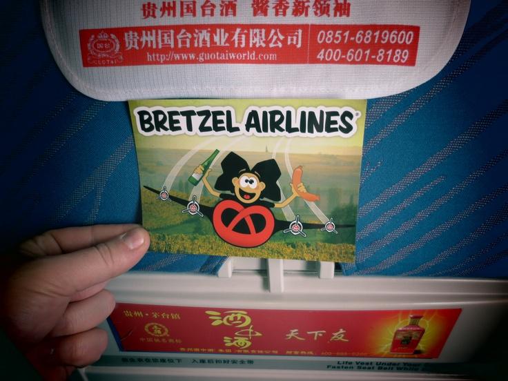 Guangzhou - China Southern on board // Bretzel Airlines, la marque Alsacienne autour du monde. La plus belle région c'est l'Alsace ! Beautifull Elsass in France. Follow us on Facebook http://www.facebook.com/BRETZELAIRLINES and on www.bretzelairlines.com