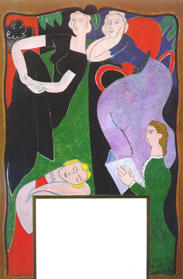 Music (overmantel decoration) by Henri Matisse, 1938