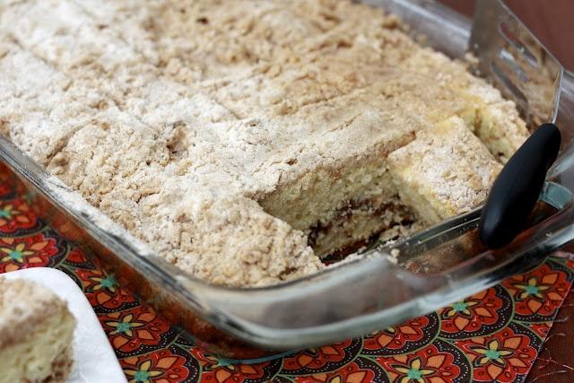Extra Crumb Cinnamon Swirl Coffee Cake