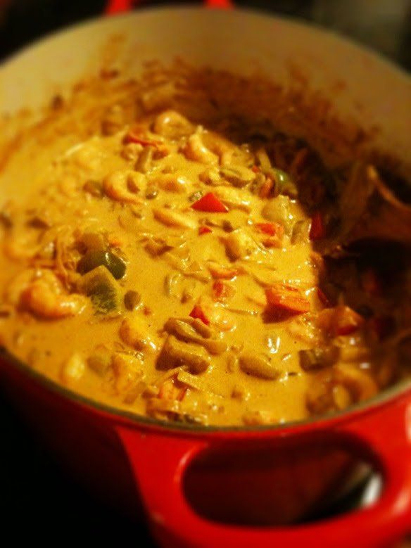 Räkgryta Indienne – min favorit! – Äkta Mat, Äkta Kärlek