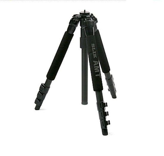 SLIK LEG 340DX Camera Tripod Compact 4 Section Black