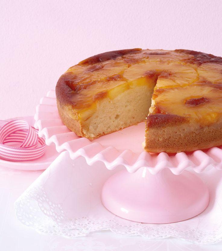 Dairy-free: Pineapple upside-down cake