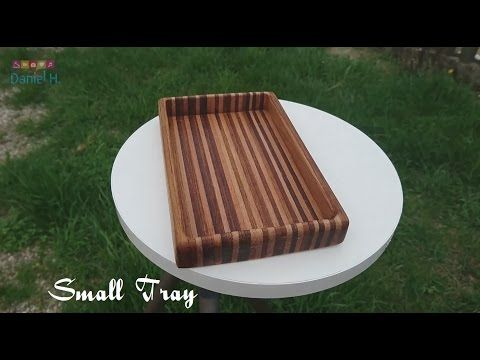 Watch this video on my channel 👀  Small Tray made on CNC from various woods  https://youtube.com/watch?v=2ijym4AeUs8