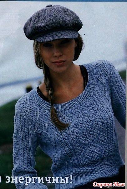 Здравствуйте рукодельницы! Хочу показать свою недавнюю работу, этот пуловер или джемпер кораллового цвета связала для себя.