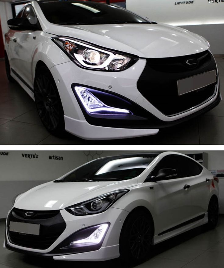 New Hyundai AVANTE MD LED lamp Light day Lights POWER LED