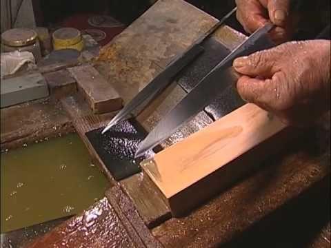 """Kameyama Shachuu presenta : Fabricacion de cuchillos """"Sakai Takayuki"""" - YouTube"""