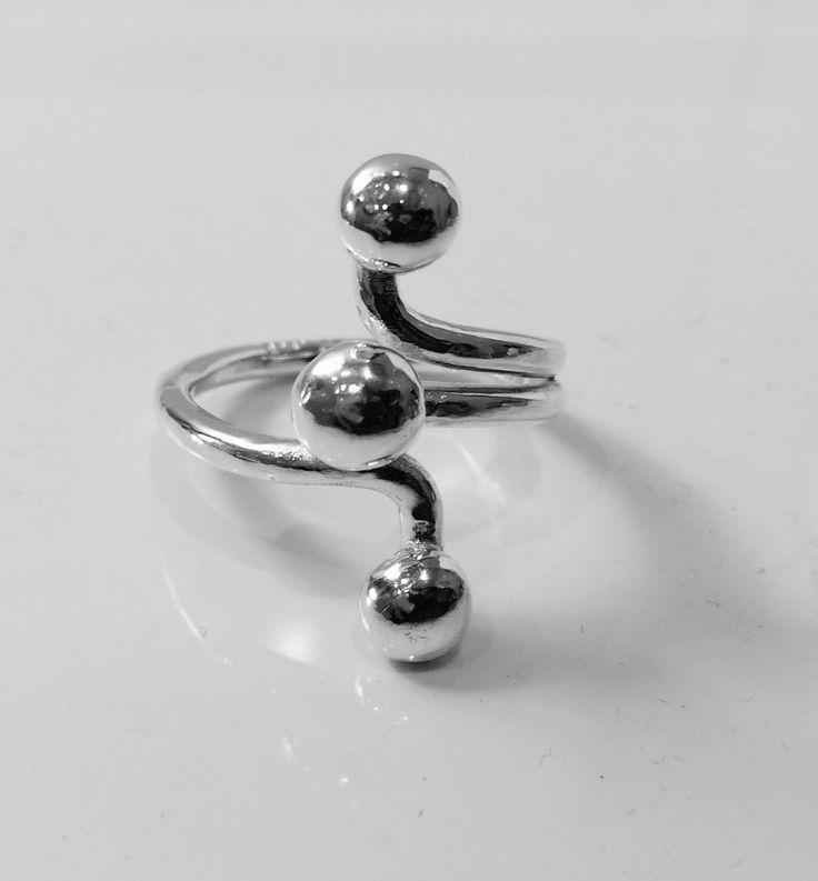 Silver ring custom made #ÅJ