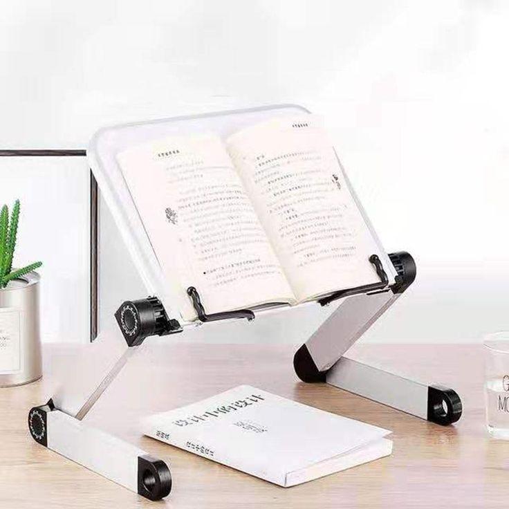 Adjustable Reading Book Stand Foldable Aluminum Lap Desk