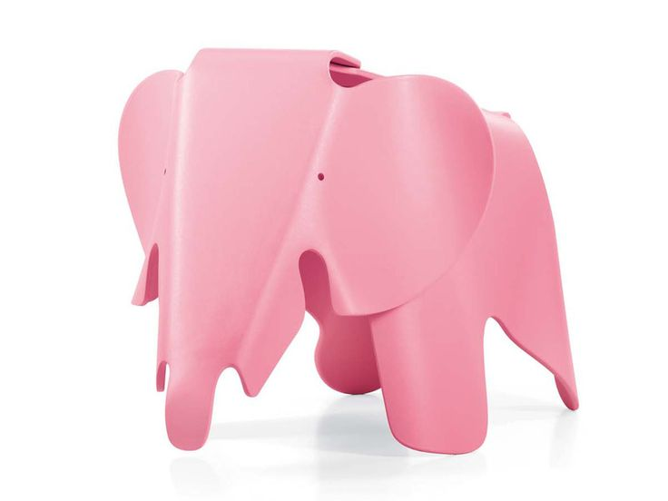 The Eames Elephant is plastic toy that was originally designed in 1945 by Charles and Ray Eames.