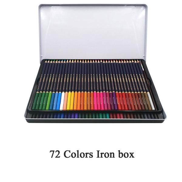 Nyoni 36 48 72colors Watercolor Pencils Set Drawing Pencils
