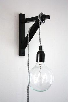 DIY stoere lamp | By Jennyshus