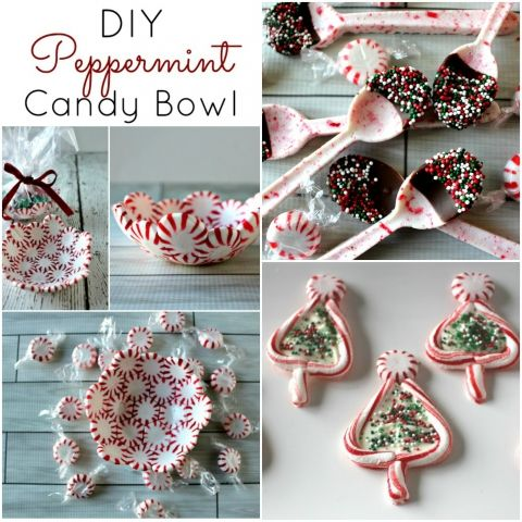 Easy DIY Peppermint Candy Crafts - Princess Pinky Girl