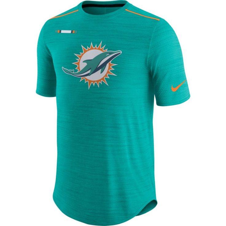 35a8e35c4 ... Nike Mens Miami Sideline 2017 Player Aqua Top. Nfl ApparelApparel  ClothingMiami Dolphins .