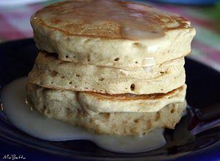 """Fluffy """"no milk"""", """"no egg"""" pancakes....awesome!"""