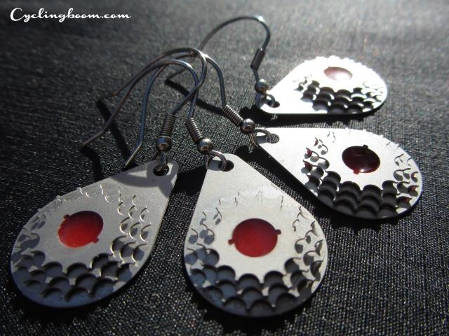 gEarring   Bicycle Inspired Jewellery   Cycling boom products