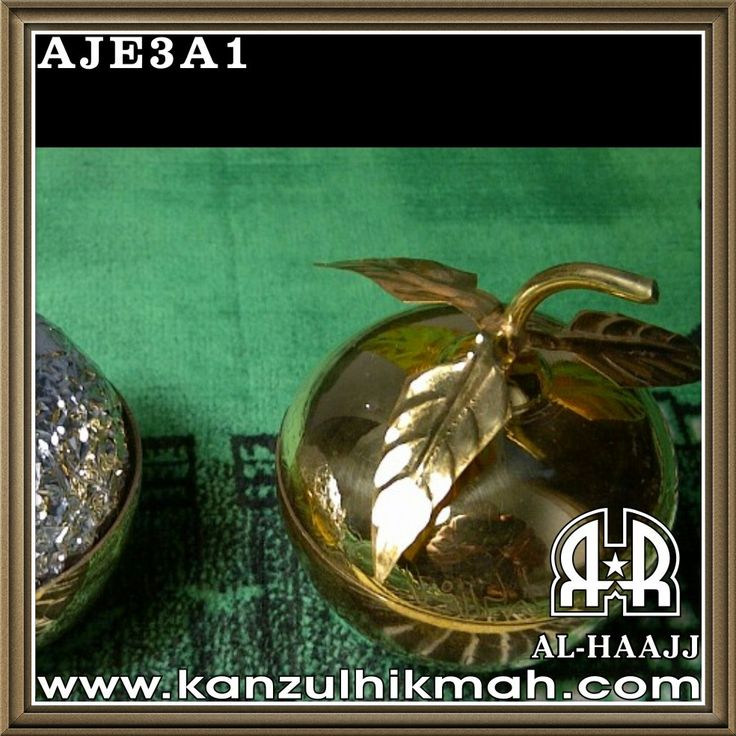 Lihat Gambar [AJE3A1] Apel Jin Hikmat Adz-Dzahabi Daun 3