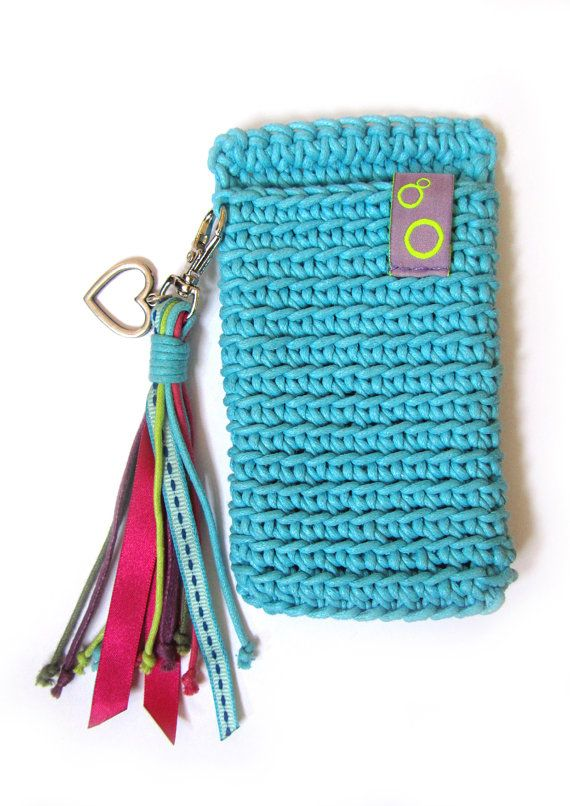 Turquoise iPhone 3/ 4/ 4s cover with colorfull by AccessoryPlanet, €29.95