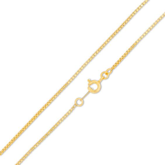 050 Gauge Box Chain Necklace In 14k Gold 20 Piercing Pagoda Chain Necklace Chains Necklace Necklace