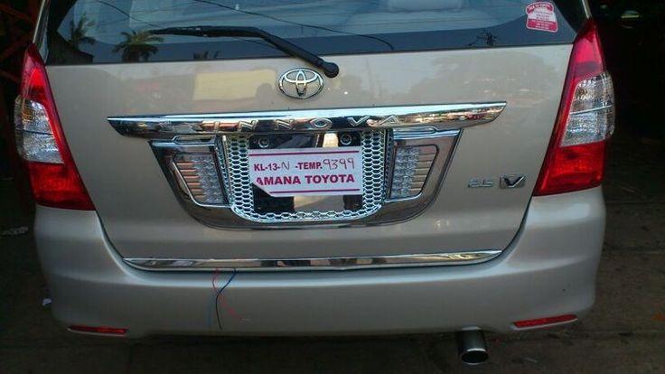 Toyota Innova Chrome Accessories | SRM CAR PLUS | Attingal | Kilimanoor | SRM Car Accessory | Call 094474 92920.