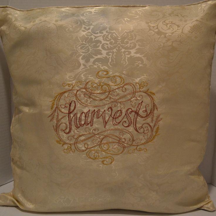 Harvest Cream Pillow Cover