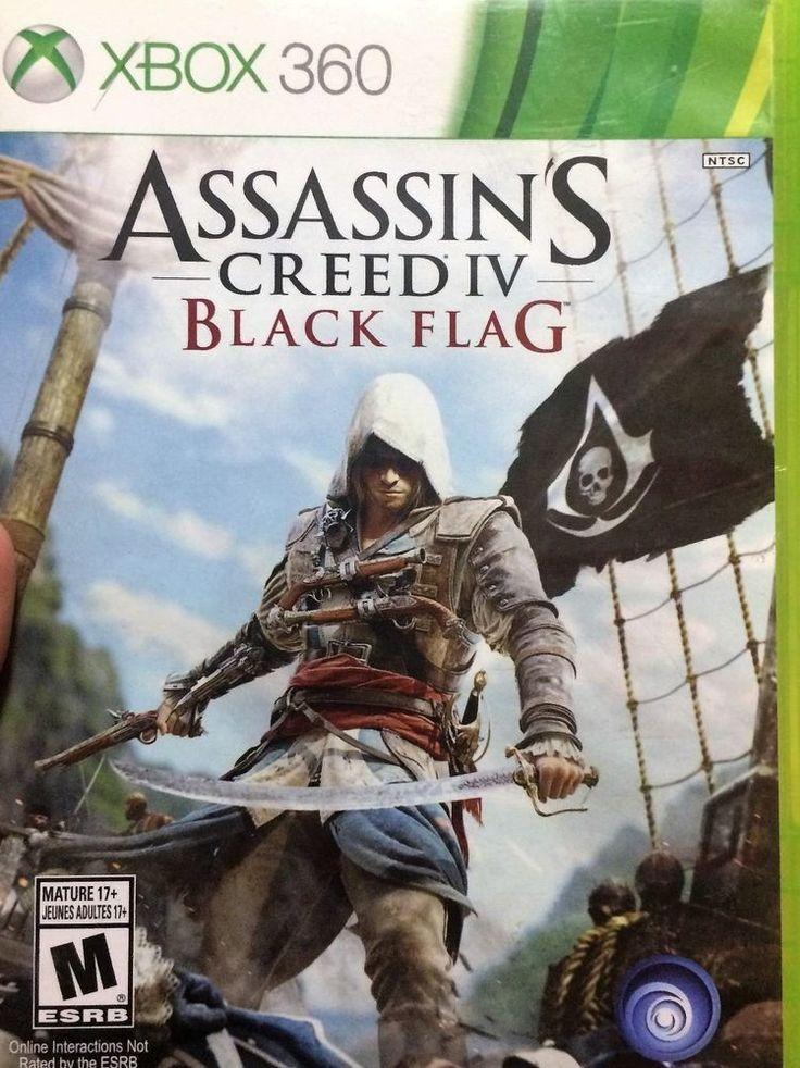 Assassin's Creed IV, Black Flag, Xbox 360, UBISOFT, MATURE 17+