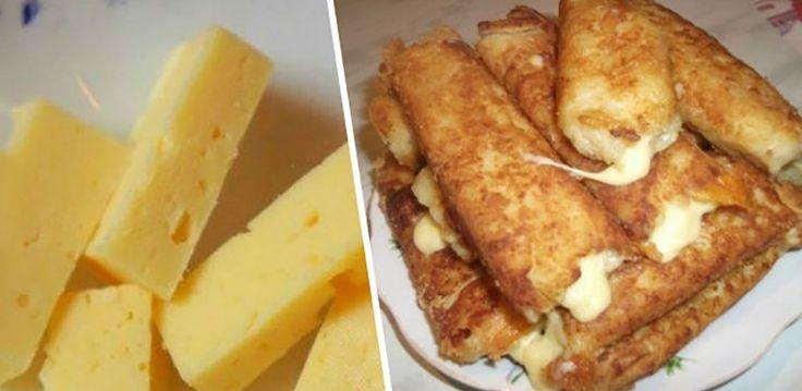 Nem tudta mit készítsen ebédre, volt otthon egy kis burgonya és sajt, a gyerekeke kedvence lett!