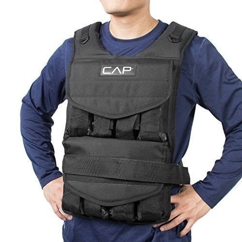 Adjustable Weighted Vest 100 Pounds Weight Training Fitness Exercise Workout…
