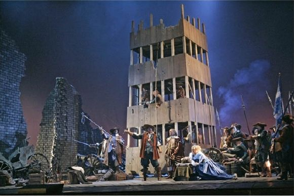cyrano de bergerac and setting Met opera: cyrano de bergerac learning that his friend lignière is the target of 100 hired thugs set on by the pompous de guiche in revenge for an unflattering poem, cyrano, buoyed by the prospect of his tryst with roxane.