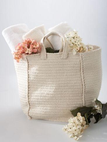 Cottage Bag | Yarn | Free Knitting Patterns | Crochet Patterns | Yarnspirations