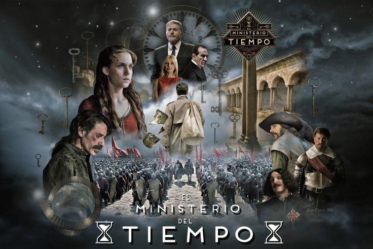 El Ministerio del Tiempo, póster 2ª Temporada, 2016.
