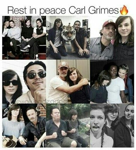 REST IN PEACE CARL GRIMES!  : , (