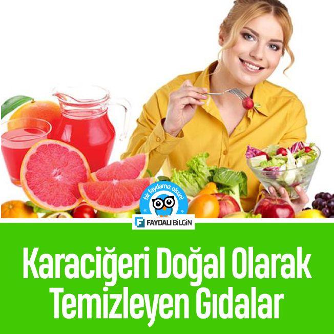 Karaciğeri Doğal Olarak Temizleyen Gıdalar #sağlık #beslenme #gıda #karaciğer @faydalibilgin