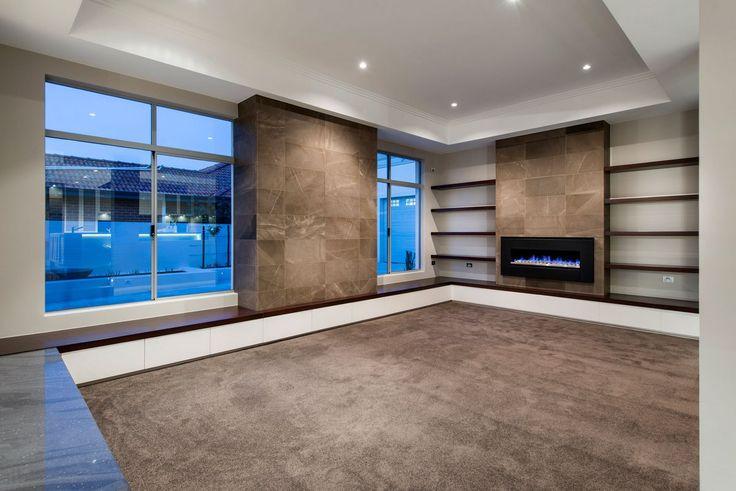Cambuild, частные дома в Австралии, особняк в Перт, элегантный интерьер частного дома, дизайн лестницы в частном доме, бассейн с джакузи фото