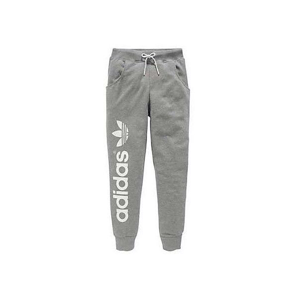 Adidas Originals Baggy Sweatpants (75 CAD) ❤ liked on Polyvore featuring activewear, activewear pants, pants, sweatpants, & - clothing - pants, baggy sweat pants, baggy sweatpants, sweat pants, adidas originals and adidas originals sweatpants