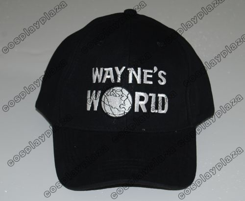 Wayne's World Baseball Hat costume Waynes World cap new