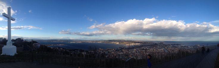 Petit panorama au Saint Clair de la ville de Sète