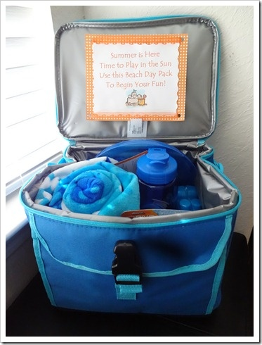 Father S Day Beach Gift Summer Gift Baskets Beach Gift