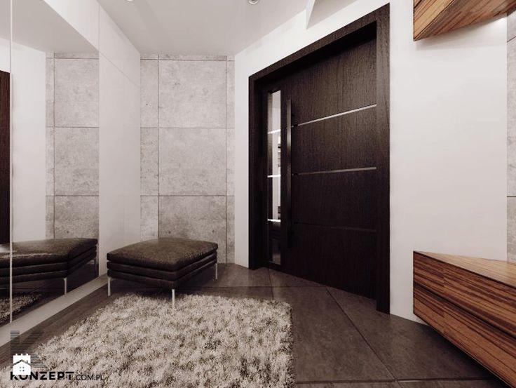 Hol / Przedpokój styl Minimalistyczny - zdjęcie od KONZEPT Architekci - Hol / Przedpokój - Styl Minimalistyczny - KONZEPT Architekci