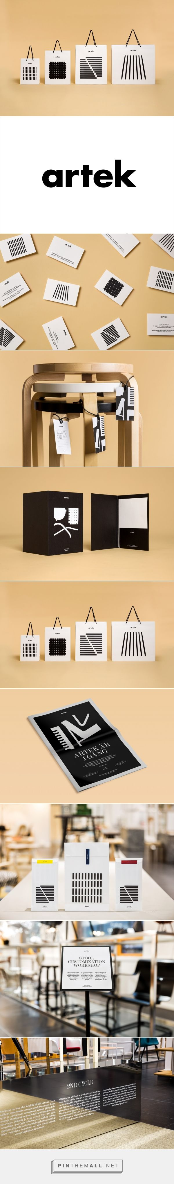 New Brand Identity for Artek Helsinki by Tsto — BP&O... - a grouped images picture - Pin Them All